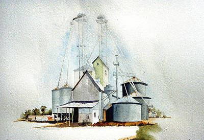 Delaware Grain Art Print by William Renzulli