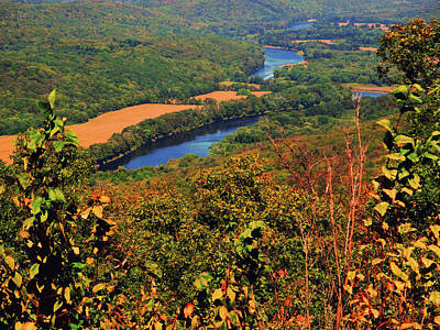 Photograph - Delaware River From The Appalachian Trail by Raymond Salani III