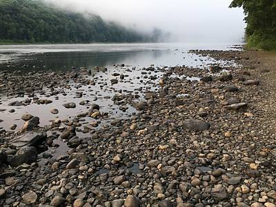 Photograph - Delaware River Mist by Helen Harris