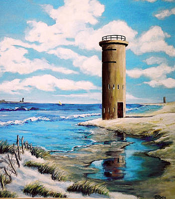 Painting - Delaware Sentinel by Ronald Lightcap