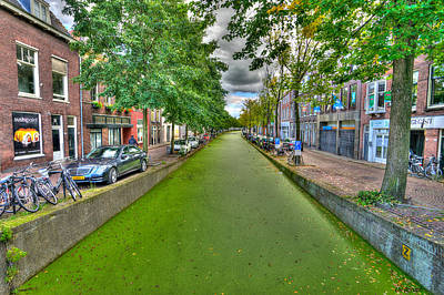 Photograph - Delft Canals by Uri Baruch
