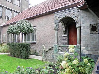 Photograph - Delft Museum Garden 3 by Pema Hou