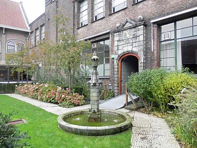Photograph - Delft Museum Garden 4 by Pema Hou