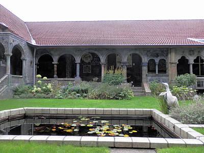 Photograph - Delft Museum Garden 5 by Pema Hou