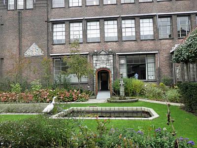 Photograph - Delft Museum Garden by Pema Hou