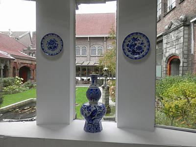Photograph - Delft Museum by Pema Hou