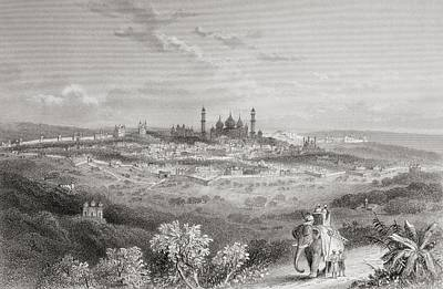 Delhi, India, From A 19th Century Art Print by Vintage Design Pics