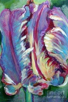 Painting - Delic Parrot by Diane montana Jansson