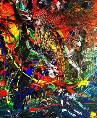 Primus Painting - Delicate Abstraction by Neal Barbosa