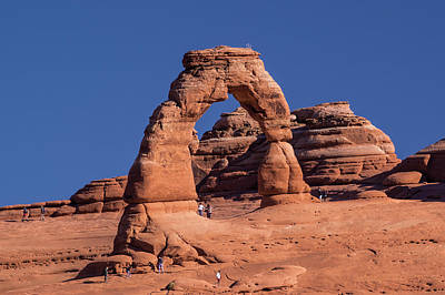 Photograph - Delicate Arch - 8574 by Jerry Owens