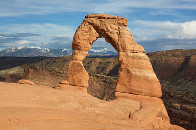 Photograph - Delicate Arch  by Aaron Spong