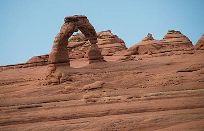 Freestanding Rock Photograph - Delicate Arch Alternate View by Jennifer Ancker