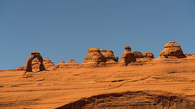 Photograph - Delicate Arch Arches National Park Utah by Lawrence S Richardson Jr