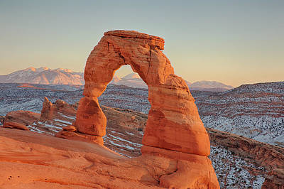 Photograph - Delicate Arch by Gerry Sibell