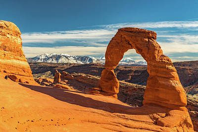 Photograph - Delicate Arch by Harry Strharsky