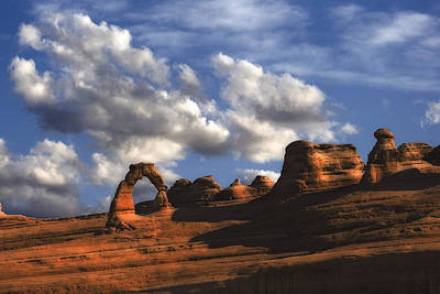 Delicate Arch In Arches National Park Art Print by Utah Images