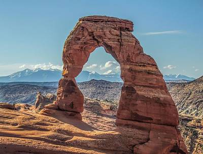 Delicate Arch In Early Morning Art Print