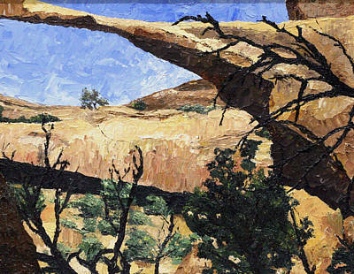 Painting - Delicate Arch by Jane Autry