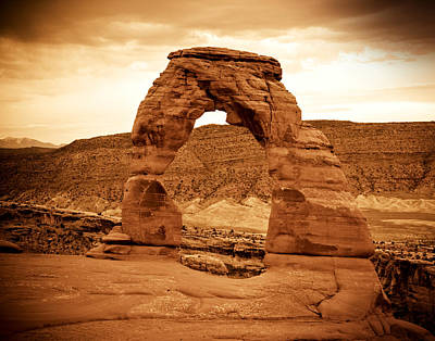 Photograph - Delicate Arch by Mickey Clausen