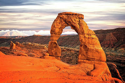 Photograph - Delicate Arch by Mike Stephens