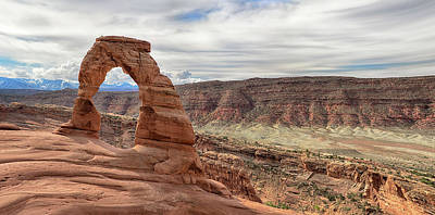 Photograph - Delicate Arch Morning by Art Cole