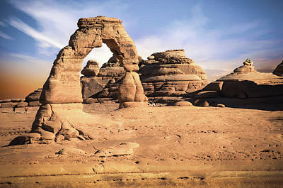 Photograph - Delicate Arch Morning Skies by Gregory Ballos