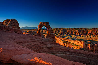 Sandstone Formation Photograph - Delicate Arch by Rick Berk