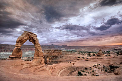 Photograph - Delicate Arch by Ryan Heffron