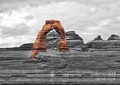 Photograph - Delicate Arch by Shirley Mangini