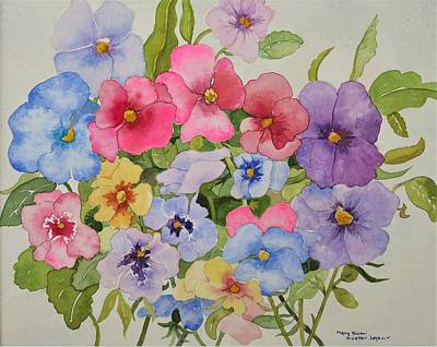 Painting - Delicate Beauties by Mary Ellen Mueller Legault