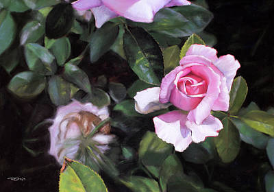 Painting - Delicate by Christopher Reid