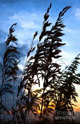 Painting - Delicate Dawn I by Dan Carmichael