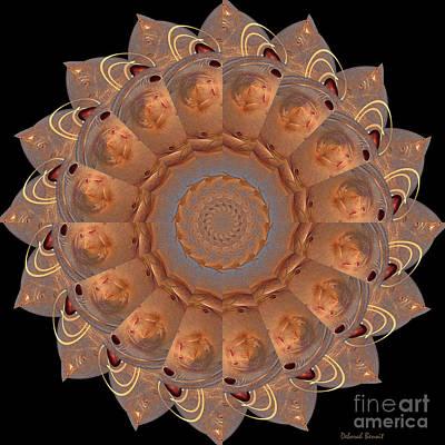 Incendia Digital Art - Delicate Jewel Creation by Deborah Benoit