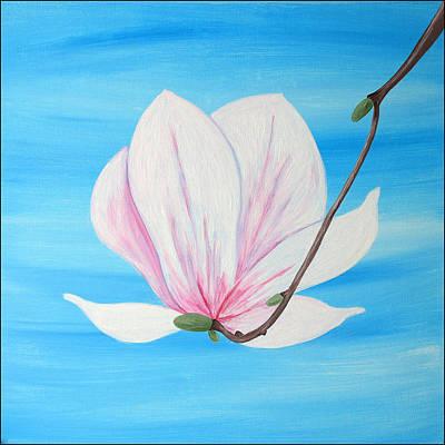 Painting - Delicate Magnolia by Iuliana O