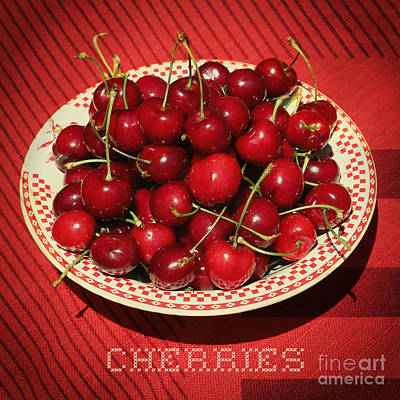 Photograph - Delicious Cherries by Carol Groenen