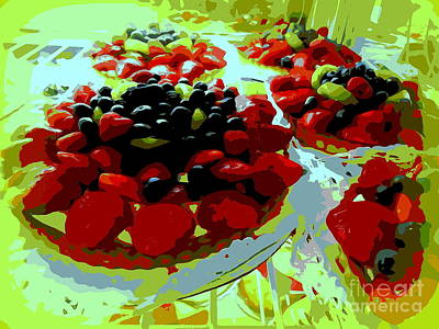Digital Art - Delicious Desserts by Ed Weidman