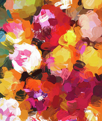 Digital Art - Delicious Floral by Uma Gokhale