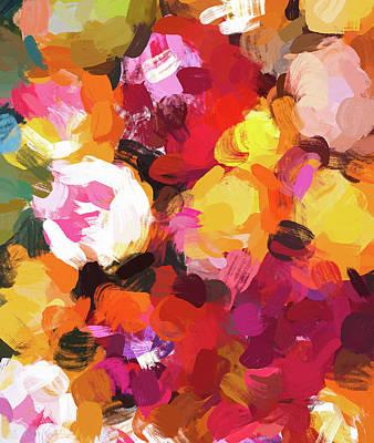 Digital Art - Delicious Floral by Uma Gokhale