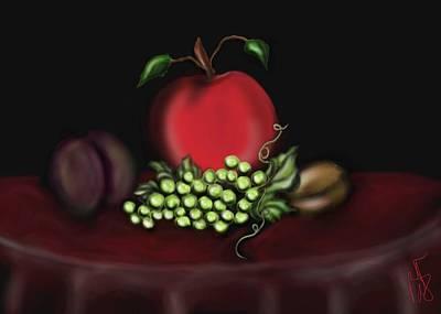 Drag Queen Mixed Media - Delicious Fruit by Ronald Terrel