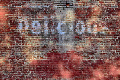 Digital Art - Delicious Old Wall by John Haldane
