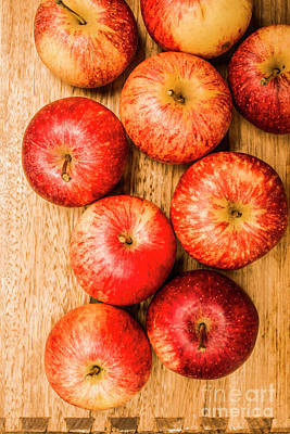 Photograph - Delicious Red Apples by Jorgo Photography - Wall Art Gallery