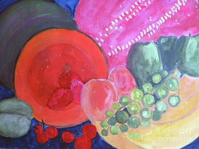 Delicious Summer Fruits Original by Sandy McIntire