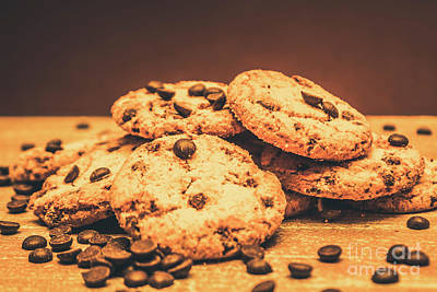 Food And Beverage Royalty-Free and Rights-Managed Images - Delicious sweet baked biscuits  by Jorgo Photography - Wall Art Gallery