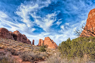 Photograph - Delightful Arches by John M Bailey