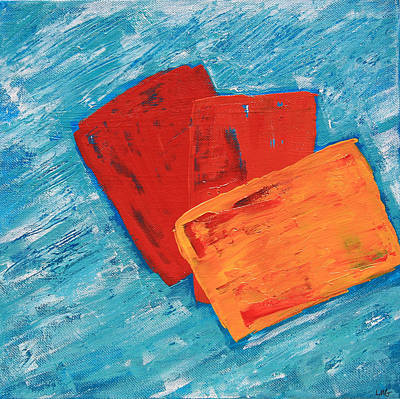 Painting - Delightful Confusion by Lynn-Marie Gildersleeve