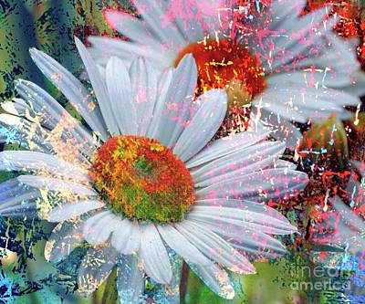 Photograph - Delightful Daisies by AZ Creative Visions