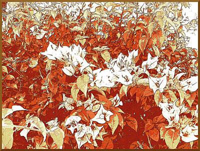 Digital Art - Delightful Garden by Iris Gelbart