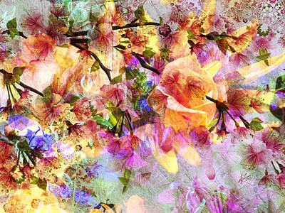 Digital Art - Delightful Spring by Kiki Art