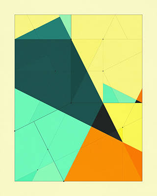 Delineation - 126 Art Print by Jazzberry Blue