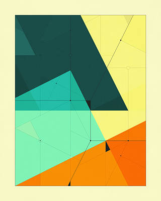 Delineation - 127 Art Print by Jazzberry Blue